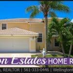 Boynton Estates Home RENTED! 96 Citrus Park Ln, Boynton Beach, Florida 33436