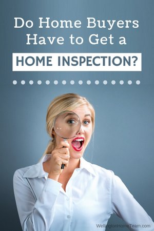 Do Home Buyers have to get a Home Inspection?