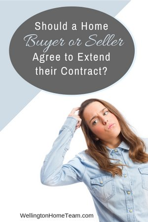 Should a Home Seller or Buyer Agree to Extend their Contract?