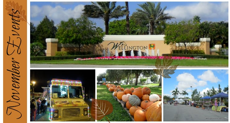 Wellington Florida Events | Week of November 6th, 2017