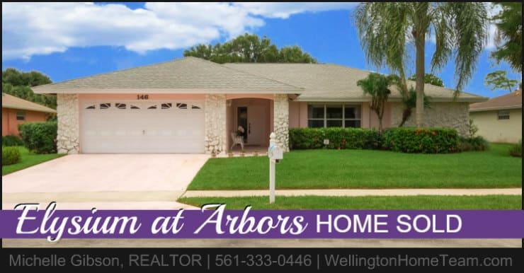 Elysium at Arbors Home SOLD! 146 Elysium Drive Royal Palm Beach Florida 33411