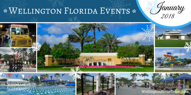 Wellington Florida Upcoming Events  Week of January 1st, 2018