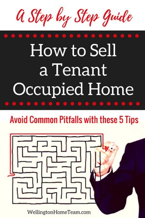 A step by step guide how to sell a tenant occupied property