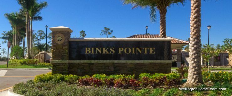 Binks Pointe Wellington Florida Real Estate and Townhomes for Sale