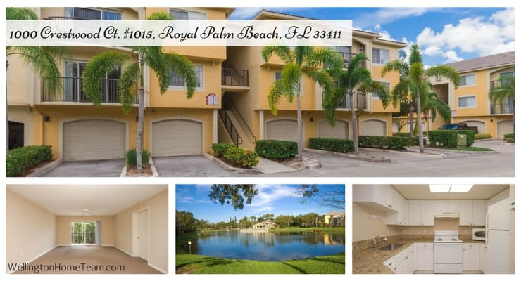 Grand View at Crestwood Condo for Sale  1000 Crestwood Ct #1015, Royal Palm Beach, FL 33411 MLS# RX-10412578