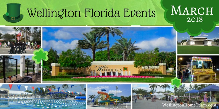 Wellington Florida Upcoming Events - Week of March 12th, 2018