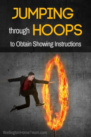 Jumping Through Hoops to Obtain Showing Instructions