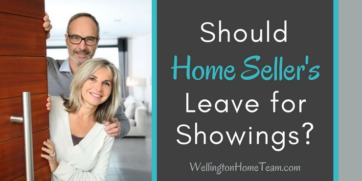 Should Home Sellers Leave for Showings