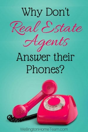 Why Don't Real Estate Agents Answer their Phone? Here are 9 Reasons