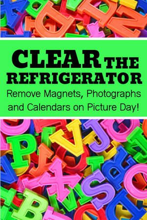 Home Selling Tips for Picture Day - Clear Refrigerator
