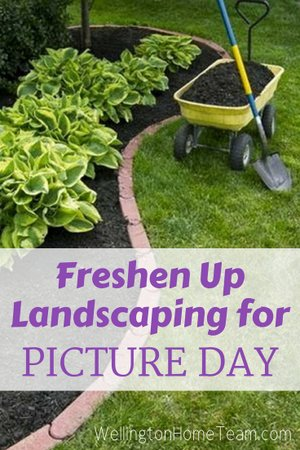 Home Selling Tips for Picture Day - Freshen Up Landscaping