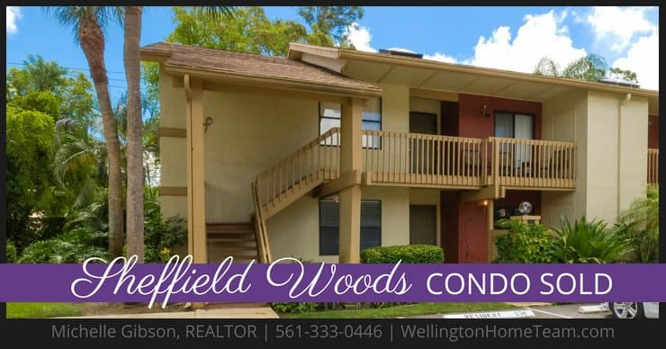 Sheffield Woods Condo SOLD! 12989 Odessa Trail #6, Wellington, Florida 33414