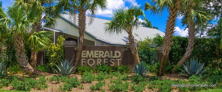Emerald Forest Wellington Florida Real Estate & Homes for Sale
