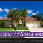 Greenview Shores Home RENTED! 12770 Kingsway Road, Wellington, Florida 33414