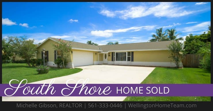 South Shore Home SOLD! 1432 Wyndcliff Drive, Wellington, Florida 33414