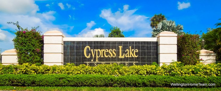 Cypress Lake Estates Lake Worth Florida Real Estate & Homes for Sale