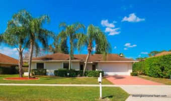 13459 Barberry Drive, Wellington, Florida 33414 - Sugar Pond Manor Home for Rent