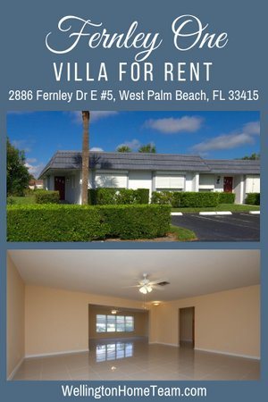 2886 Fernely Drive E #5, West Palm Beach, Florida 33415
