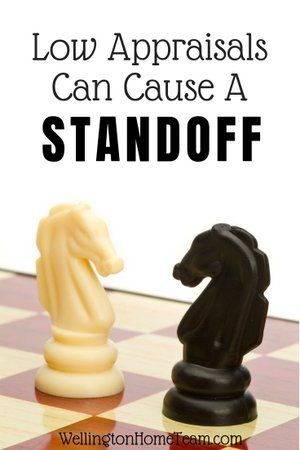 Low Appraisals can cause a standoff