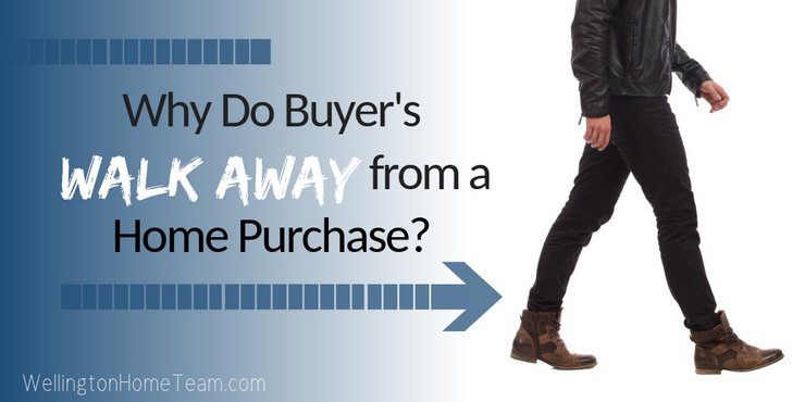Why Do Buyer's Walk Away from a Home Purchase