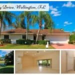 Sugar Pond Manor Home for Rent 13459 Barberry Drive, Wellington, FL 33414