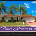 Sugar Pond Manor Home RENTED! 13459 Barberry Dr, Wellington, Florida 33414