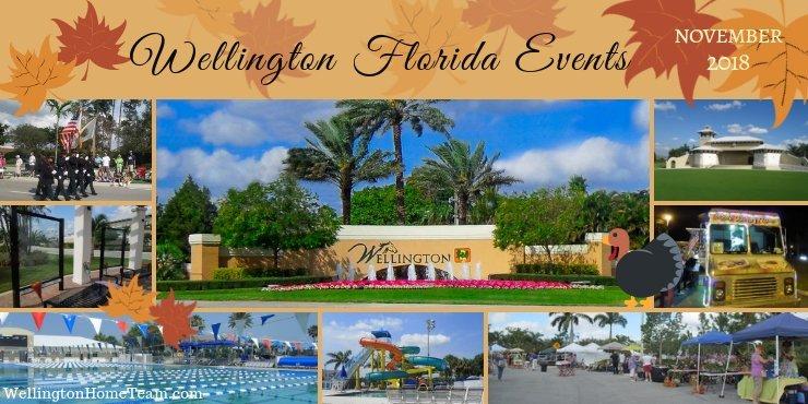 Wellington Florida Upcoming Events | Week of November 26th, 2018