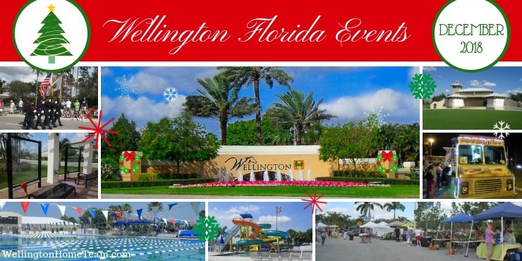 Wellington Florida Upcoming Events   Week of December 10th, 2018