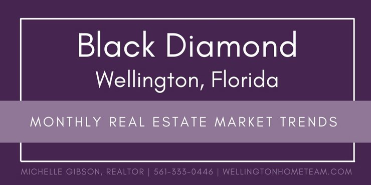 Black Diamond Wellington Florida Monthly Real Estate Market Trends