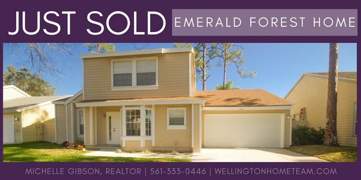 Emerald Forest Home SOLD! 1050 Aviary Road, Wellington, Florida 33414