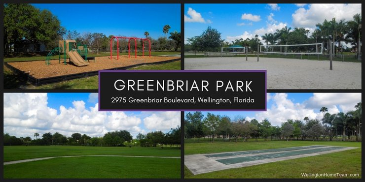 Greenbriar Park Wellington Florida Real Estate