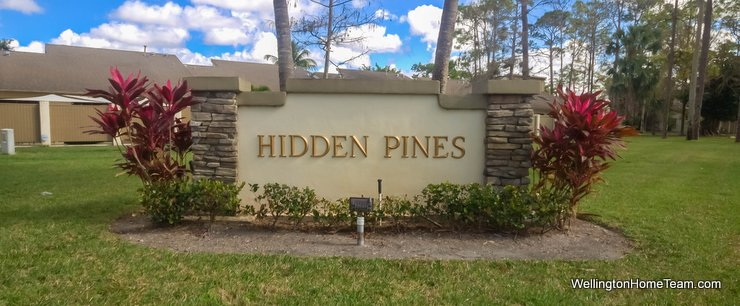 Hidden Pines Wellington Florida Real Estate & Townhomes for Sale