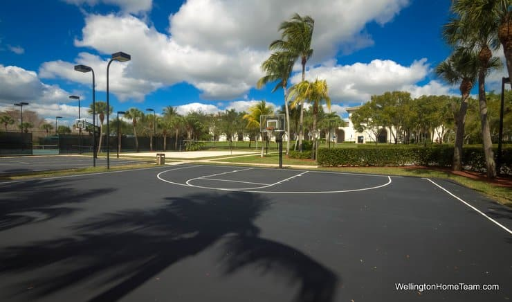 Olympia Wellington Florida Basketball Court