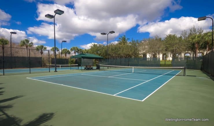 Olympia Wellington Florida Tennis Courts