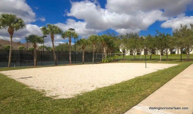 Olympia Wellington Florida Volleyball Court