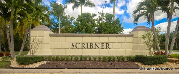 Scribner Village at Olympia Homes for Sale in Wellington Florida