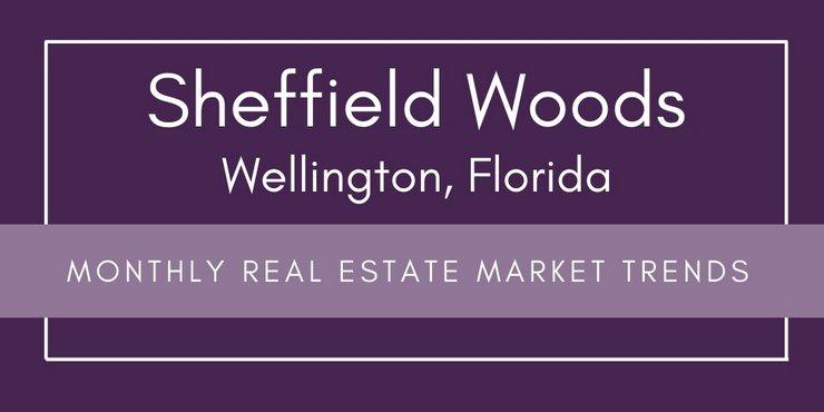 Sheffield Woods Wellington Florida Monthly Real Estate Market Trends
