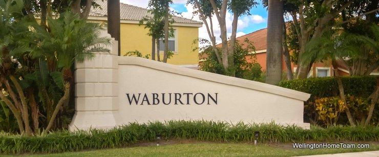 Waburton Village at Olympia Homes for Sale in Wellington Florida