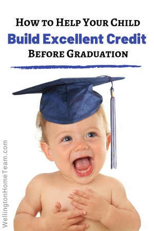 How to Help Your Child Build Excellent Credit Before Graduation