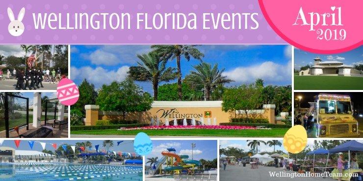 Wellington Florida Events April 2019