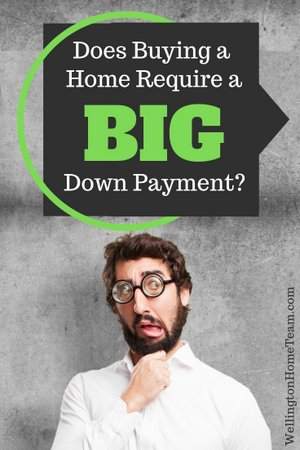 Does Buying a Home Require a BIG Down Payment?