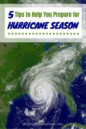 5 Tips to Help You Prepare for Hurricane Season