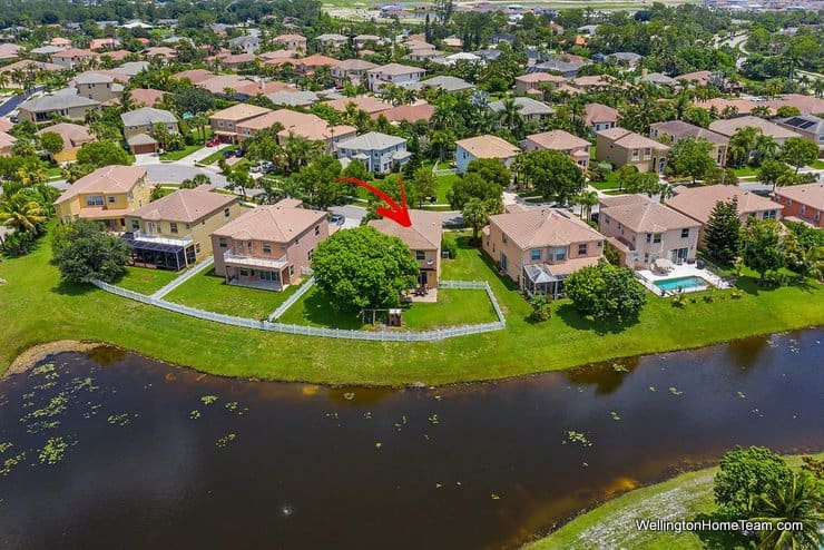 2735 Misty Oaks Circle Royal Palm Beach Florida 33411 Lake View