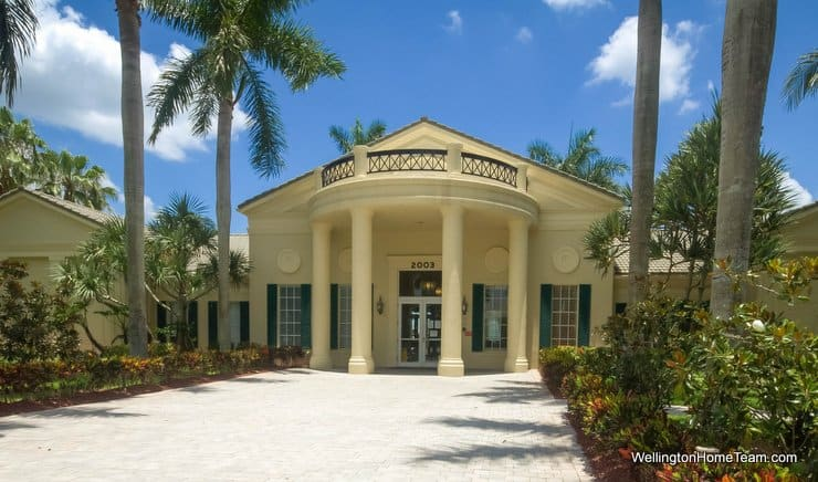 Madison Green Royal Palm Beach Florida Clubhouse Entry