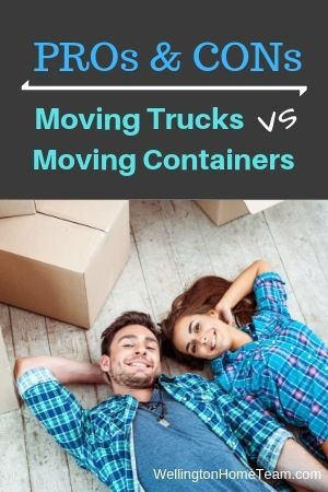 Moving Trucks VS Moving Container | Pros & Cons