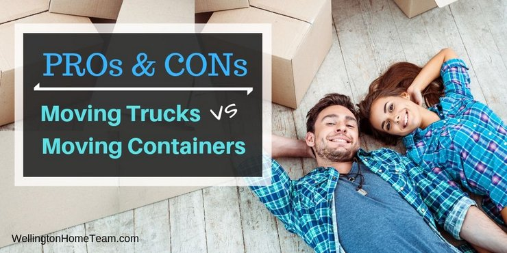 Moving Trucks VS Moving Container Pros and Cons