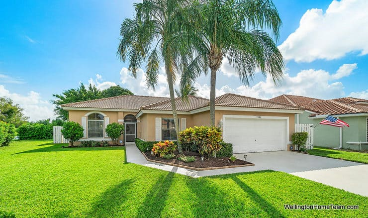 5986 Las Colinas Circle Lake Worth Florida 33463 - Winston Trails Waterfront Home