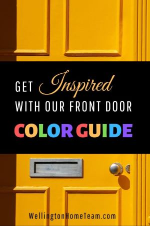 Get Inspired with Our Front Door Color Guide