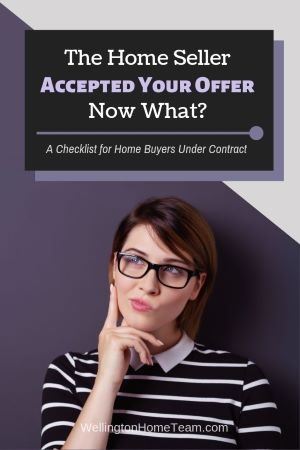The Home Seller Accepted Your Offer, Now What?