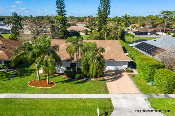 13459 Barberry Drive Wellington Florida 33414 - Aerial